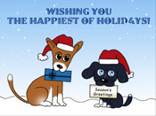 Wishing you the Happiest of Holidays eCards