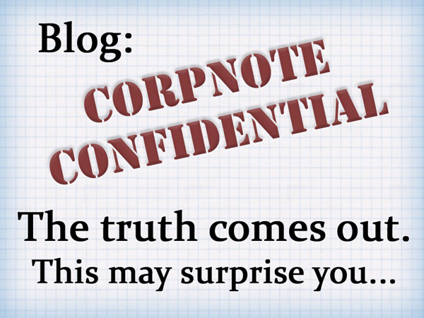 CorpNote Confidential - We're not really an eCard company...