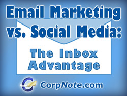 Email marketing versus social media