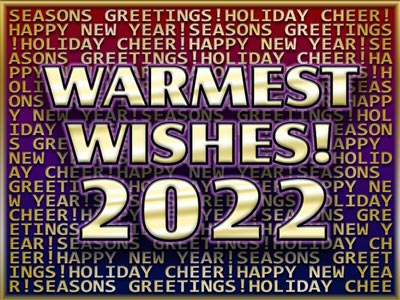 Animated Holiday eCard Warmest Wishes