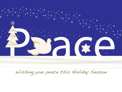 Holiday eCard with Dove