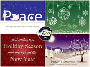 Custom Holiday eCards