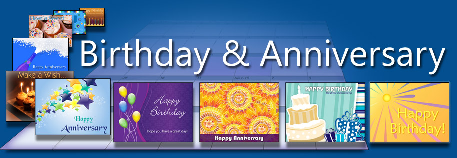 Never forget birthdays, employment anniversaries, wedding anniversaries or yearly customer service follow-ups.