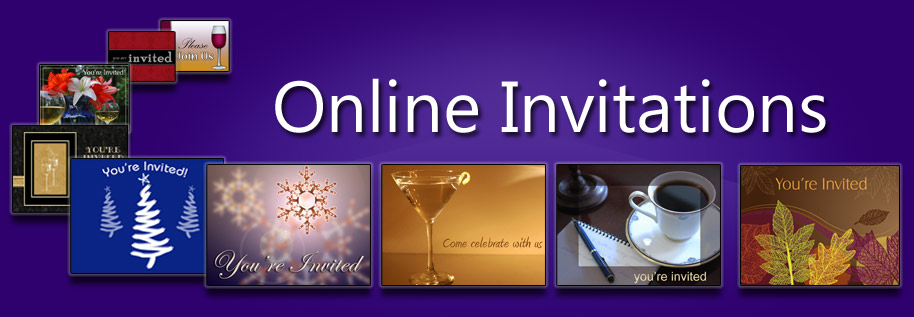Easily create online invitations with RSVP for any type of event.