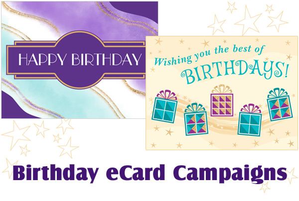 Four steps to effective birthday eCard campaigns.