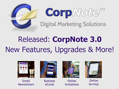 CorpNote announces expansive additions to its email marketing services.