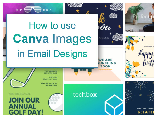 Using Canva Images in Email Designs