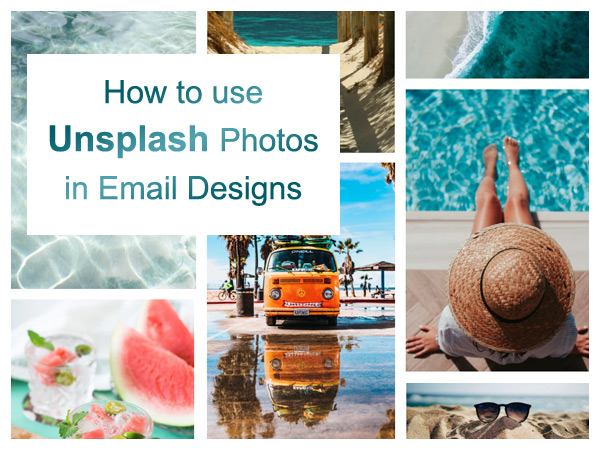 How to use Unsplash Photos in Email Designs