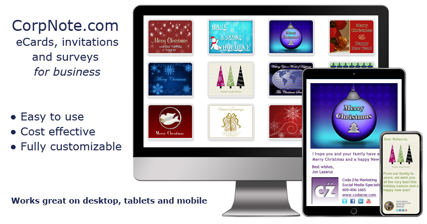 Christmas ecards for business and friends and christmas invitations colourmoves