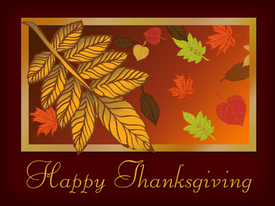 We offer a wide assortment of Thanksgiving eCard designs or upload your own.