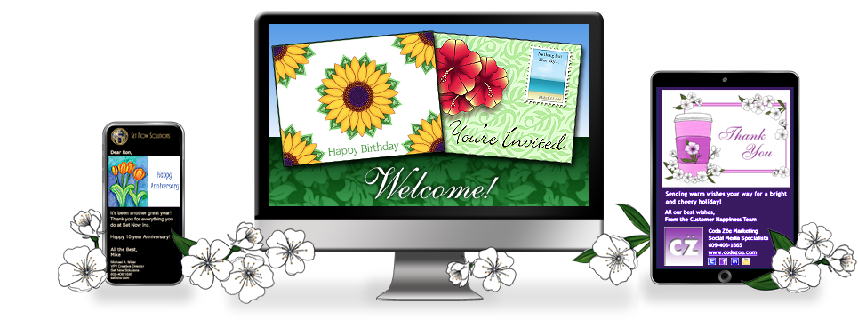 CorpNote Digital Marketing tools - Send Greeting Cards, Business Messages, Invitations and Surveys