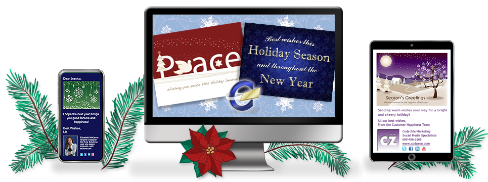 CorpNote Holiday Greeting Cards Invitations And Surveys For Business