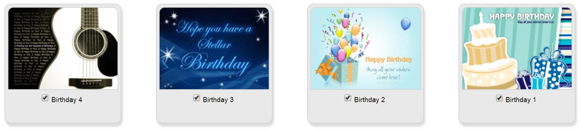 To Set Up A Recurring ECard Series Choose From Your Templates