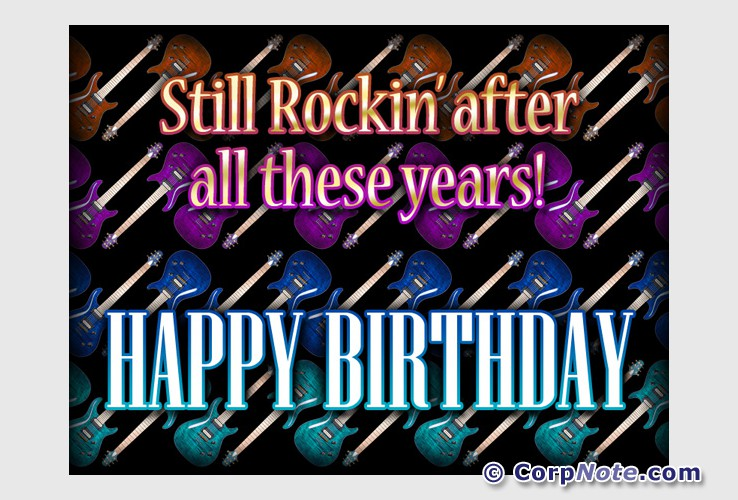 Image result for Happy Rockin Birthday