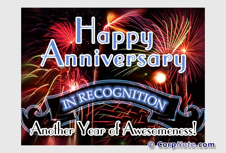 Employee recognition ecards great job anniversary and birthday ecards