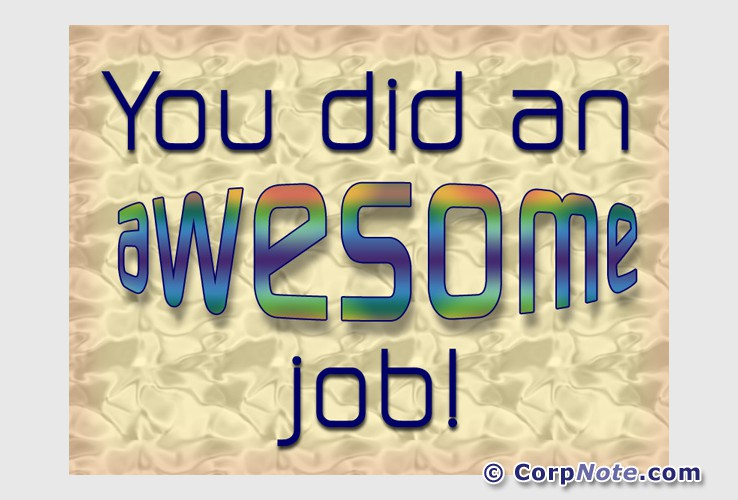 Employee Recognition eCards Great Job Anniversary and ...