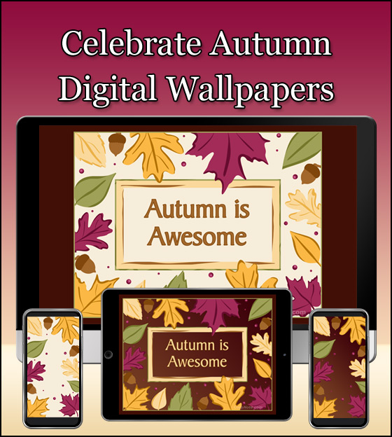 Download our free autumn wallpapers to make your tech screens festive.
