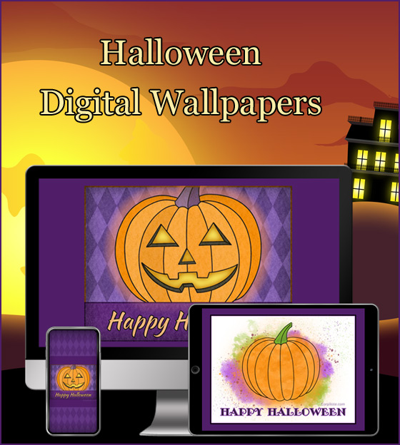 Download our Halloween free wallpapers with pumpkins.
