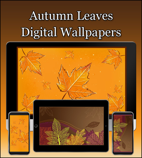 Our autumn leaves free wallpapers celebrate the season.