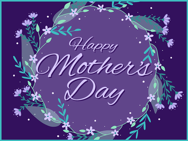 You can create your Mother's Day eCards any time of year and schedule them to be sent.