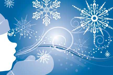 Holiday eCards can also be used for business sales promotions or online invitations to holiday office parties.