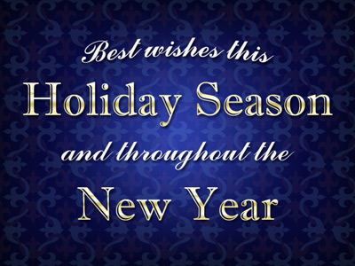 You can also post your holiday eCards in social media and on your website.