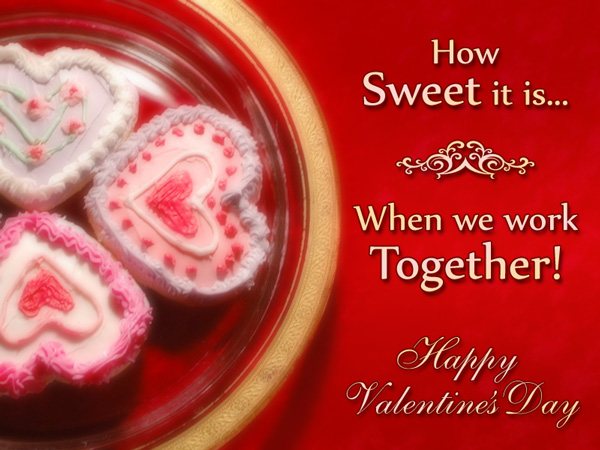 Valentine's Day eCard designs for Business