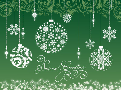 These are the popular holiday eCard sending times.