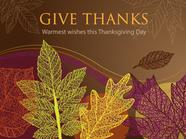 Businesses and organizations like to send Thanksgiving eCards to get noticed before the winter holiday rush.