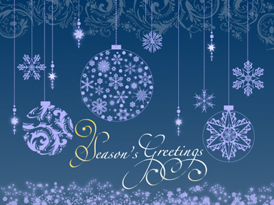 Holiday eCards offer several advantages over printed eCards.