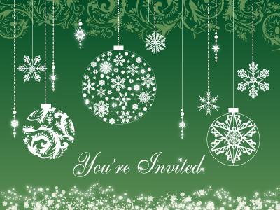 Online invitations make corporate holiday party much easier.